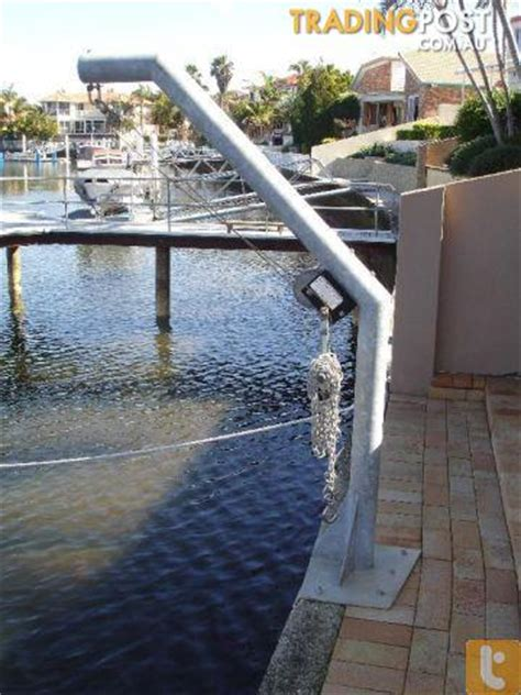 boat lift for sale gold coast davit boat lift and lifting sling chains up to 300kgs