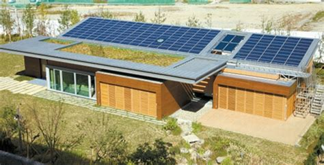self sufficient house design green tomorrow new energy self sufficient house by samsung c t self sufficient