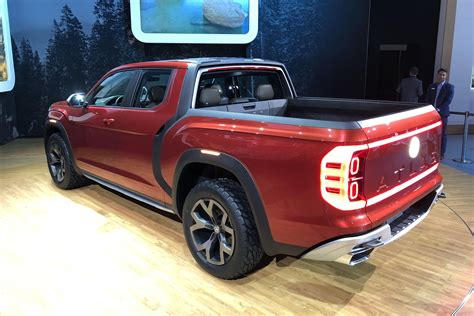 volkswagen truck concept vw explains why it brought a pickup truck concept to new