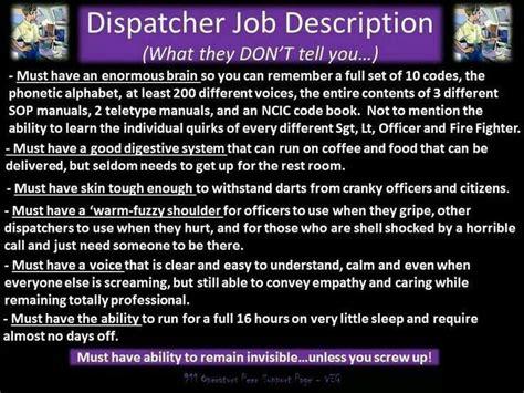 dispatcher description in headsets