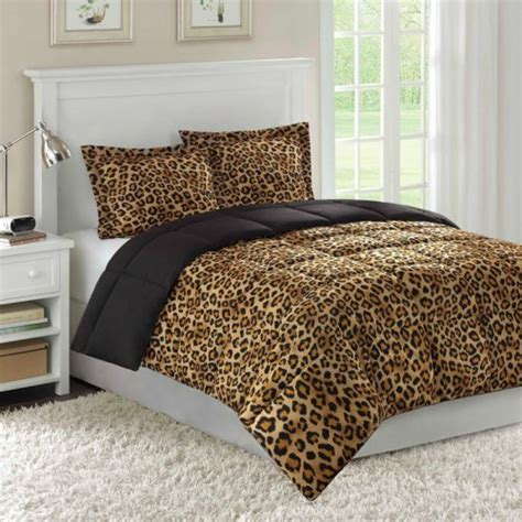 cheetah print bedroom zaire comforter mini set cheetah print safari bedding