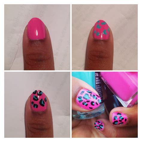 nail art tutorial animal print leopard print nail art tutorial