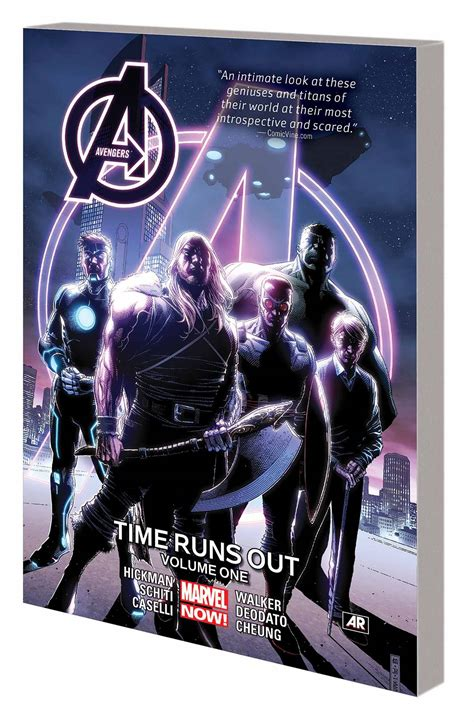 incursion book three of the recursion event saga books marvel comics time runs out tp vol 01 w hickman
