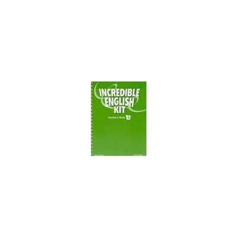 libro incredible english kit 3 incredible english kit 3 teacher book 2ed varios autores