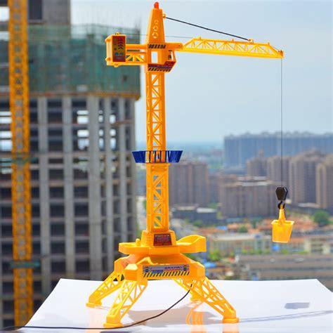 Free Shipping Sluban Crane Building - aliexpress buy 1 64 electric remote tower