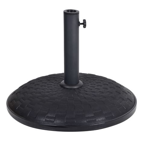 patio umbrella base stand 15kg 25kg concrete garden parasol base outdoor furniture umbrella stand ebay