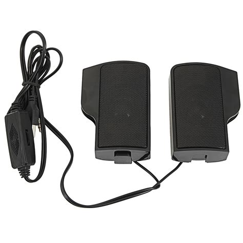 wall mounted external computer usb speaker stereo for player laptop pc new ebay