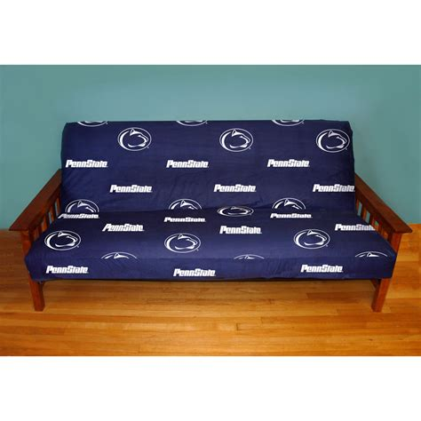 nfl futon covers penn state nittany lions full size futon cover