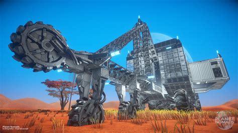 Planet Nomads planet nomads editor mining machine