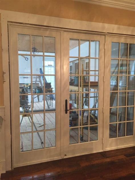3 panel french doors interior closet doors the anderson 3 panel 9ft french door diggerslist