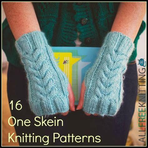 one skein knitting projects 16 one skein knitting patterns allfreeknitting