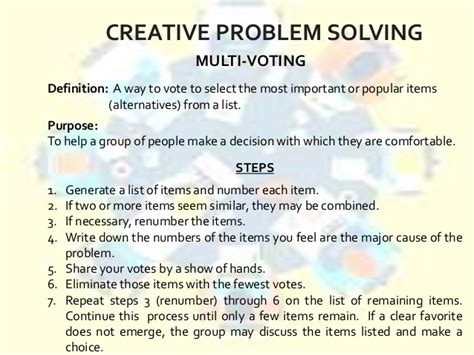 problem solving activity for adults expert custom