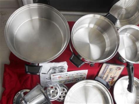 kitchen craft west bend americraft waterless stainless
