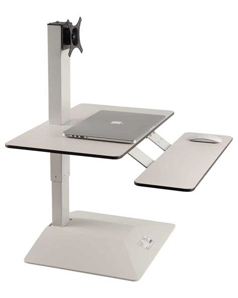electric sit stand desktop workstation convert any of