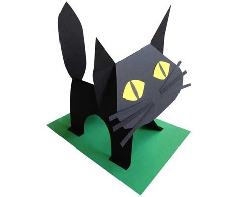 Black Cat Papercraft - papercraftsquare new paper craft black cat free