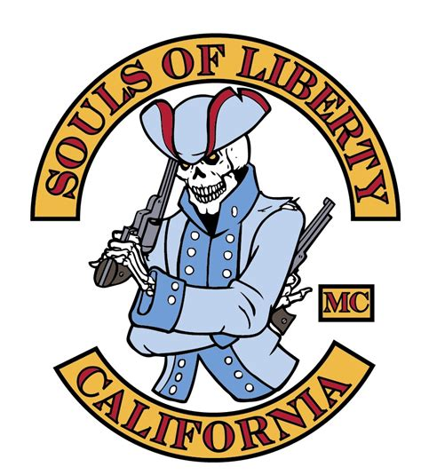club colors souls of liberty motorcycle club colors the fictional