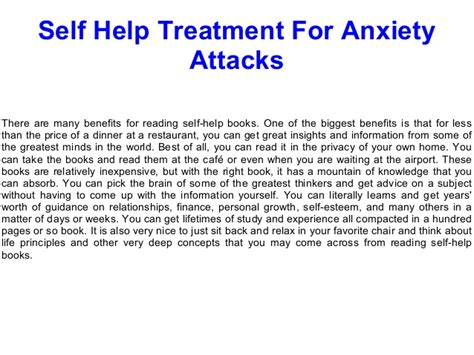 how to get a therapy for anxiety self help treatment for anxiety attacks