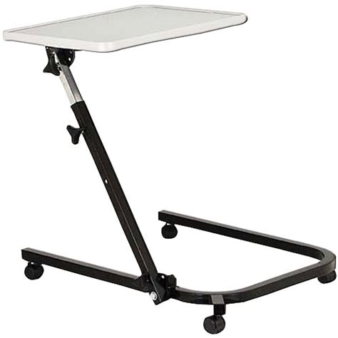 walmart bed table drive medical deluxe overbed hospital table white