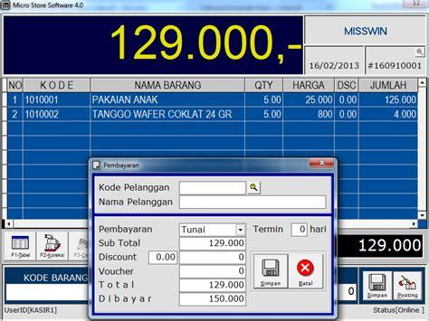 Software Kasir Profesional Program Kasir Resto Dan Retail software kasir