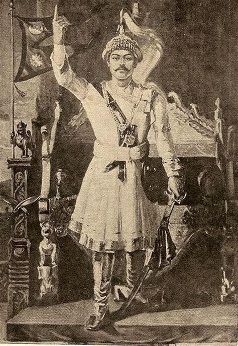tattoo history in nepal prithvi narayan shah king of nepal asia royalty