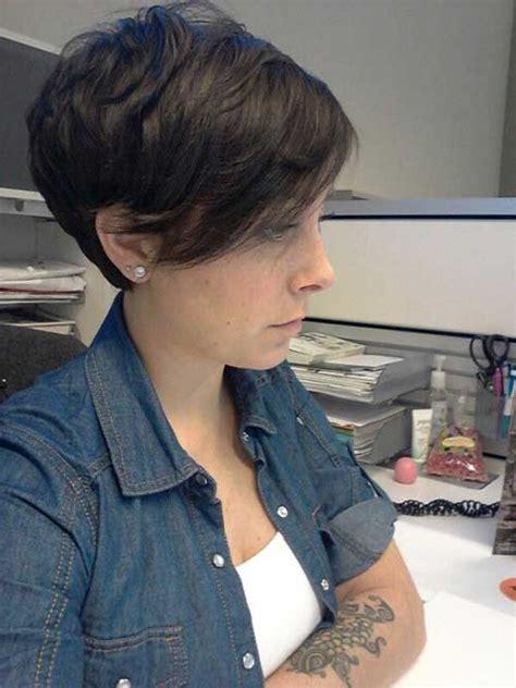 how to style pixie cut long on top 20 dark hair pixie cut pixie cut 2015