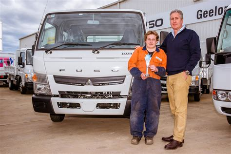 volvo group australia pilbara heavy haulage girls receive two new trucks donated