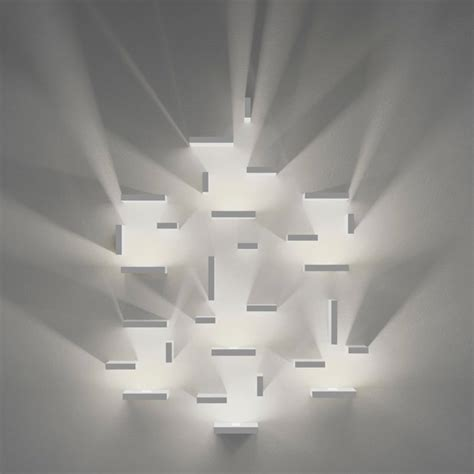 Unique Wall Lights Modular Wall Lighting With Unique Illumination Effects