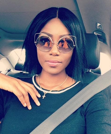 actress ynovnne nelson with bob hair yvonne nelson is pregnant naija news
