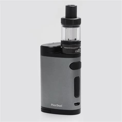 Authentic Pico Dual 200w By Eleaf authentic eleaf pico dual 200w grey tc vw mod with melo iii mini tank