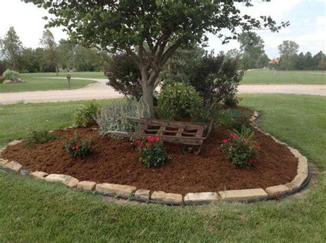 Landscaping Ideas Garden Edging Landscape Edging Ideas Around Trees Inexpensive