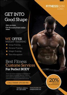 templates bodybuilder for photoshop download corporate business is free psd flyer template to download