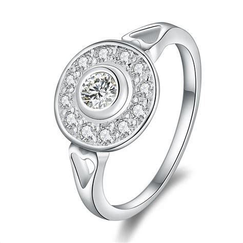 Wedding Rings Design Silver by New Design 925 Sterling Silver Rings Jewelry Zircon