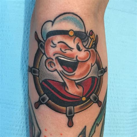 popeye tattoo popeye the sailor tattoos find popeye the