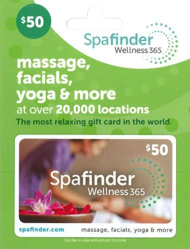 Spafinder Wellness 365 Gift Card - 5 creative gift ideas for mother s day holly day make any day a holiday