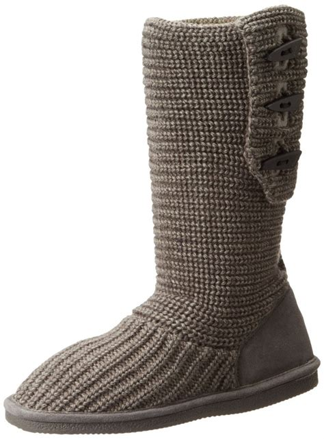 knit boots bearpaw knit boot top heels deals