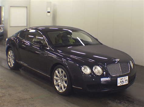 2004 bentley continental gt specs 2004 bentley continental gt japanese used cars auction
