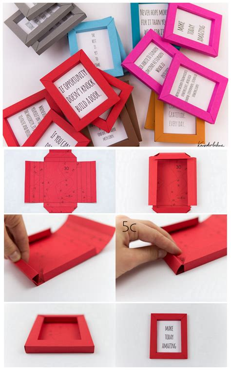 Paper Frames - true blue me you diys for creatives diy paper frame
