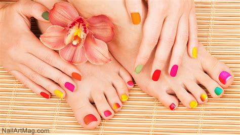 Manicure Pedicure by Beautiful Manicure And Pedicure Combinations To Try
