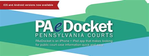 Pa Judiciary Court Search Unified Judicial System Of Pennsylvania