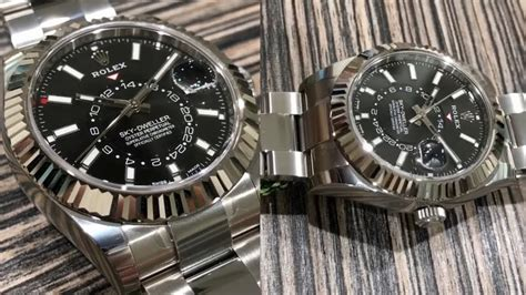 Rolex Classical Combi Black Gold rolex sky dweller 326934 black 42 mm steel and white gold swiss made luxury