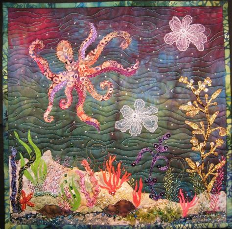 octopus quilts on octopuses quilts and