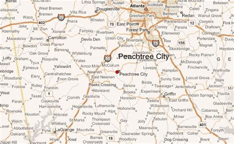 peachtree city location guide