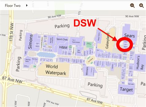 Floor Plans Alberta by Dsw Shoes West Edmonton Mall Flagship Under Construction