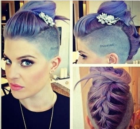 shaved side prom hairstyles hair braided updo shaved glam sqaud pinterest