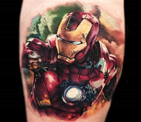 ironman tattoo victor zetall post