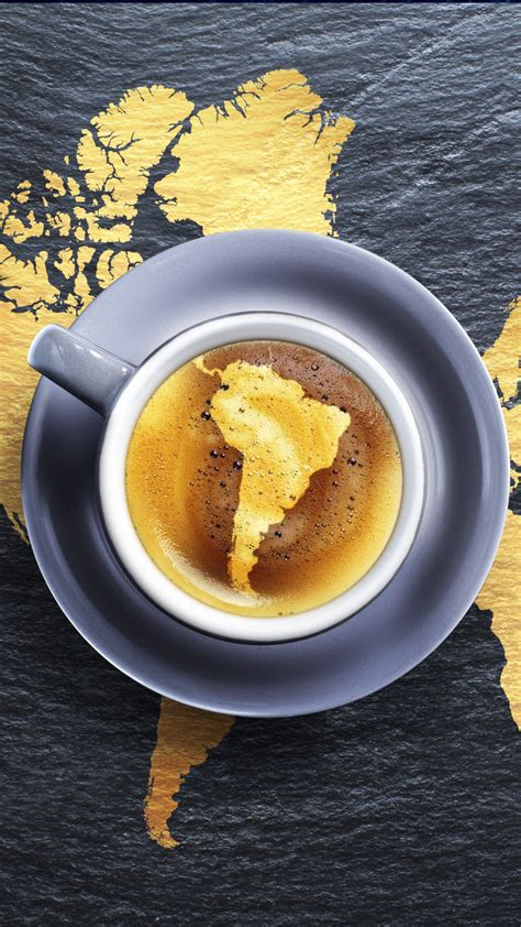 coffee map wallpaper coffee africa south america map foam android wallpaper