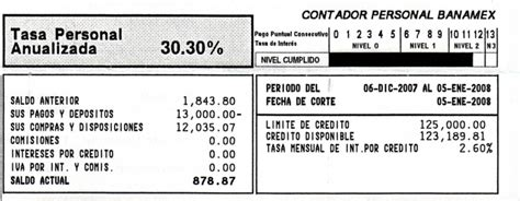 ejemplo estado de cuenta bancomer reportes ejemplo estado de cuenta bancomer l 237 mite cr 233 dito a meses