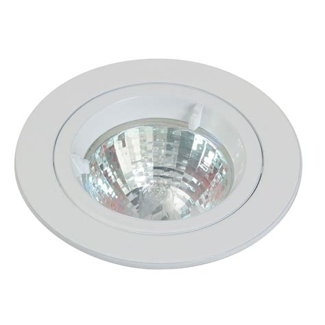 gu10 die cast ceiling spotlight fixed