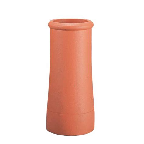 clay chimney pit traditional clay roll top chimney pot about roofing supplies