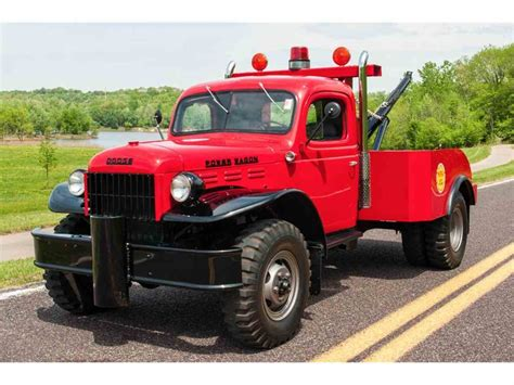 dodge power master 1942 dodge power wagon tow truck for sale classiccars